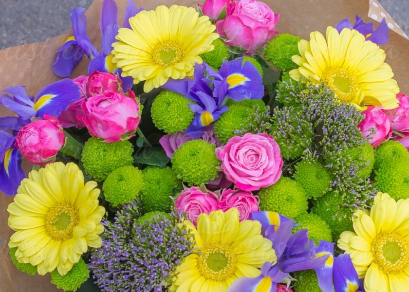 День разноцветных букетов когда появился, цветов уфа
