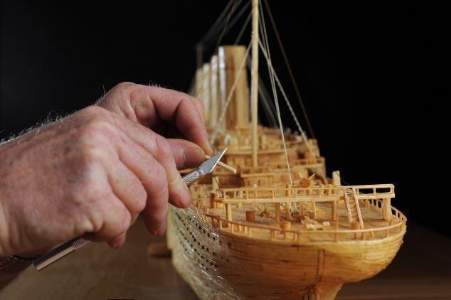 последнее картинки кораблей из спичек тема